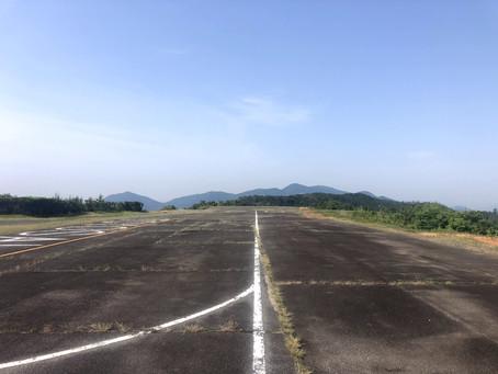 6月8日、豊栄飛行場でフライト