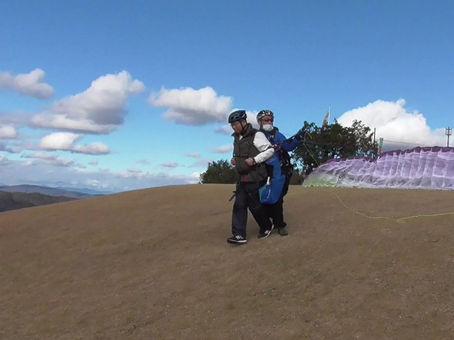 12月4日、吉田先生とフライト