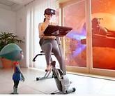 유니브이알, 실내자전거 연동 VR 게임 올 하반기 출시