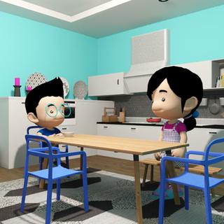 [스마트큐브] VR 미세먼지 교육 콘텐츠 제작