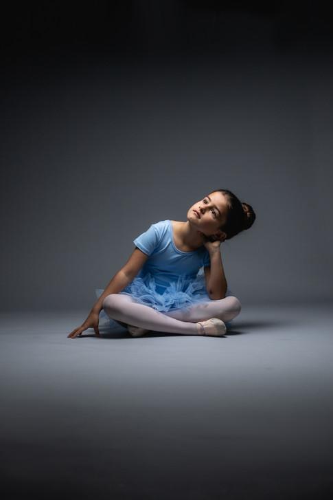 little ballet dancer dance photoshoot