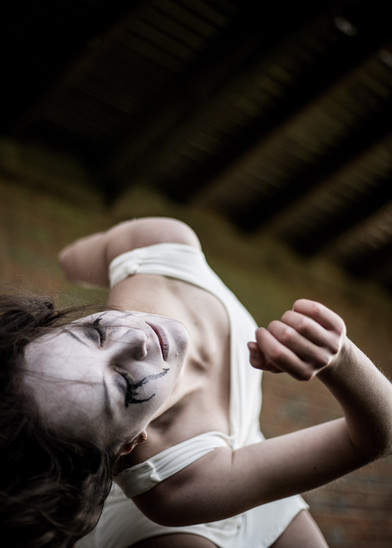 halloween portrait dancer