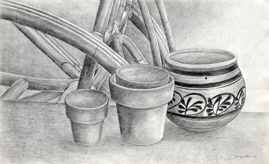 Wicker and Pots