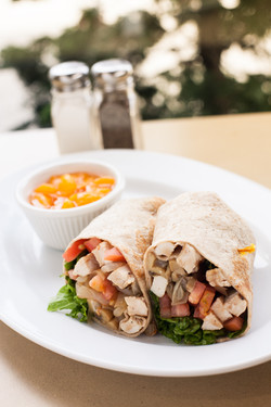 Balsamic Chicken Wrap