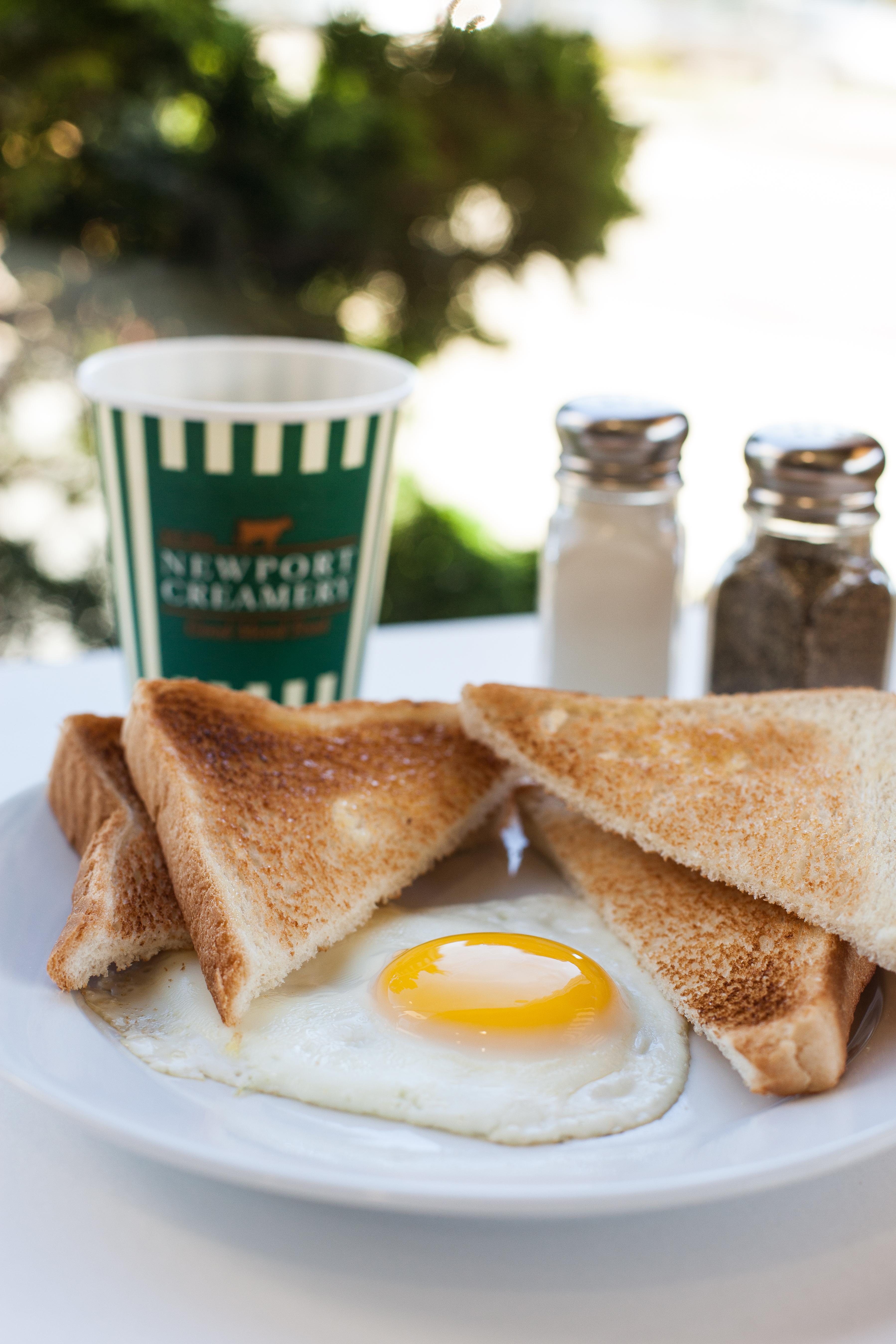Senior Egg & Toast