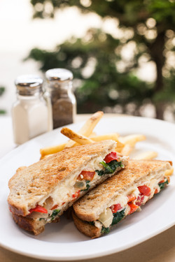 Spinach Pie Grilled Cheese