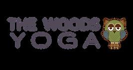 the woods yoga logo