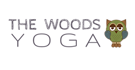 the woods yoga logo