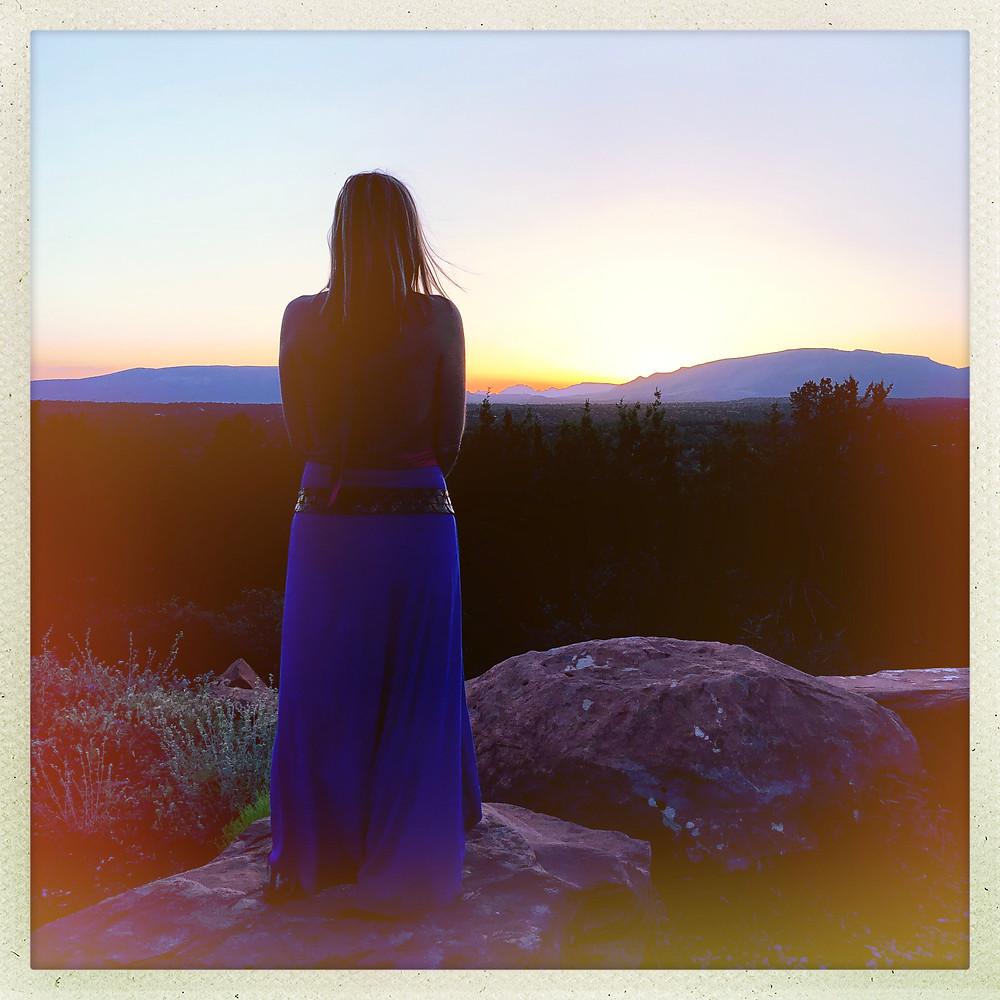 Cosmic Skywalker Sunset Sedona