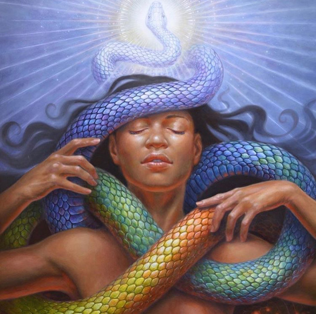 Red Magnetic Serpent : Autumn Skye : Embodiment