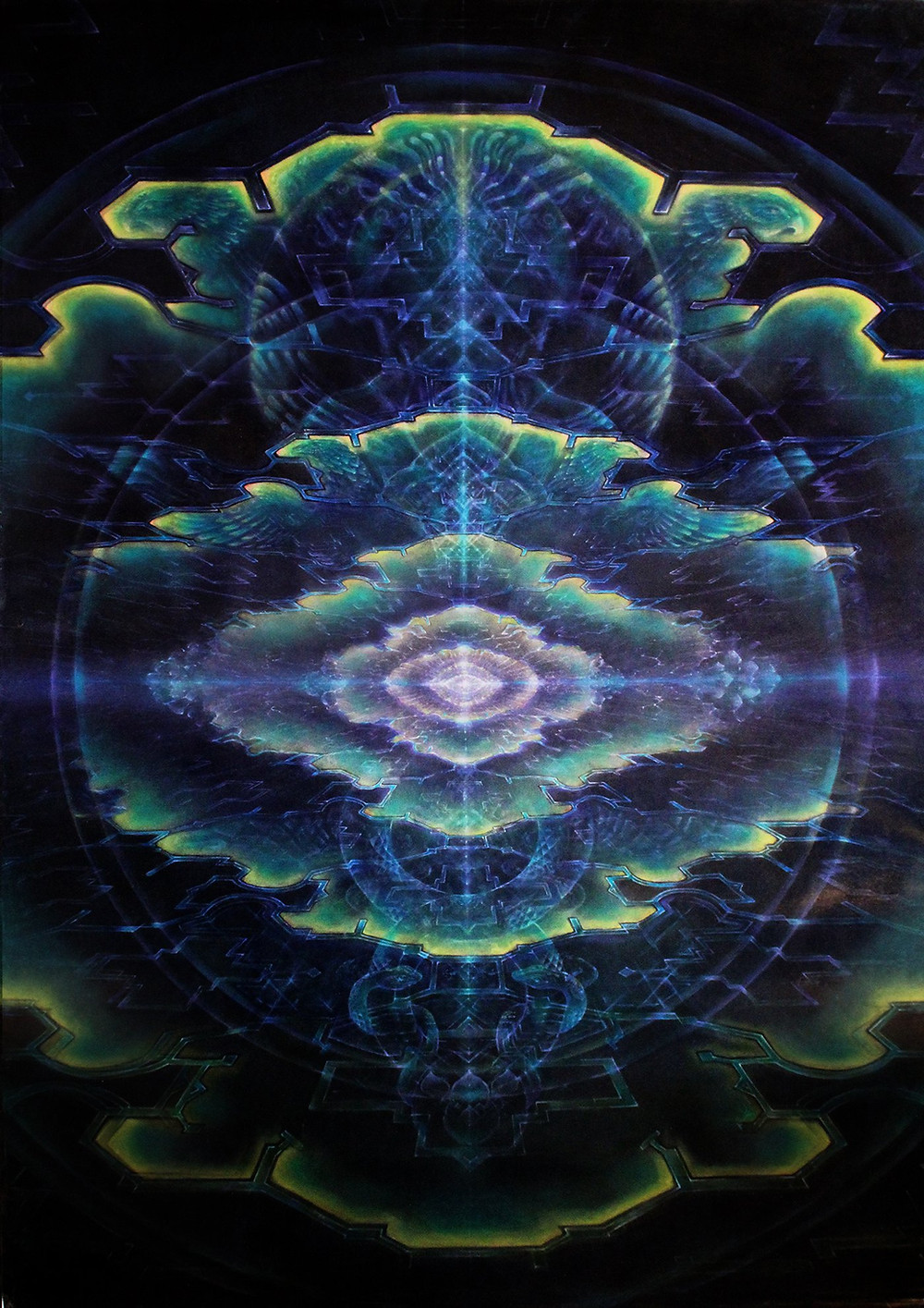Daniel Mirante : Blue Cosmic Night : Cosmic Mystery