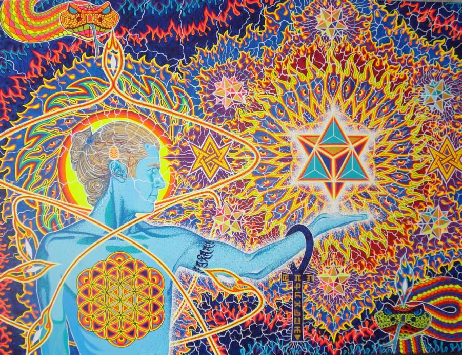 artist unknown star merkabah kundalini awakening