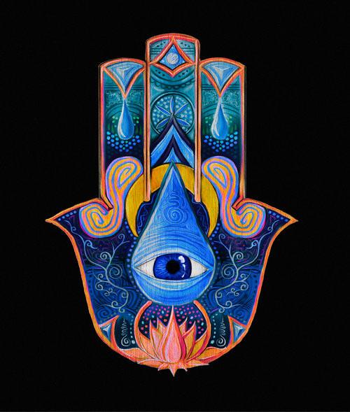 Hamsa - Artist Unknown