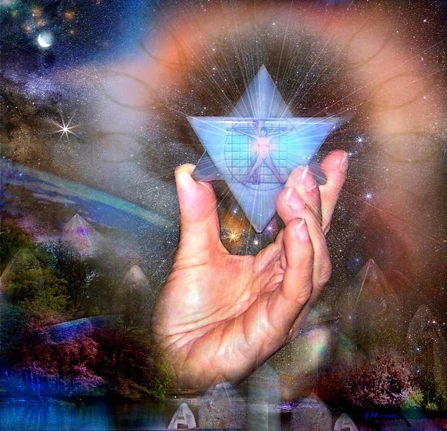 Crystal Earth Human
