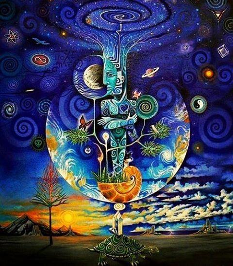 Blue Lunar Storm