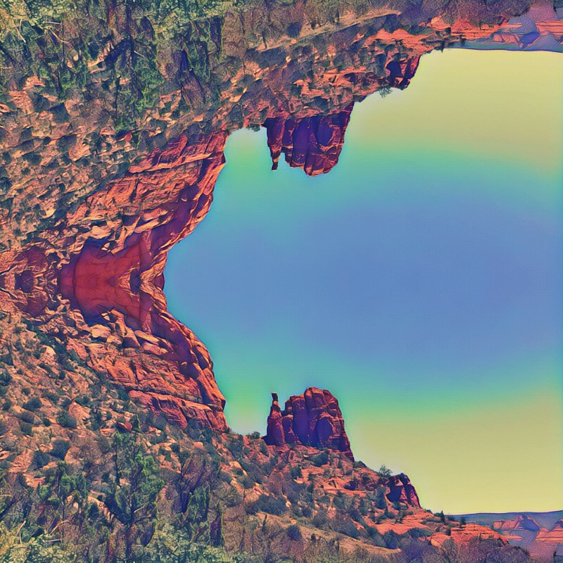 Rachel Harding 'As Above So Below' : Sedona