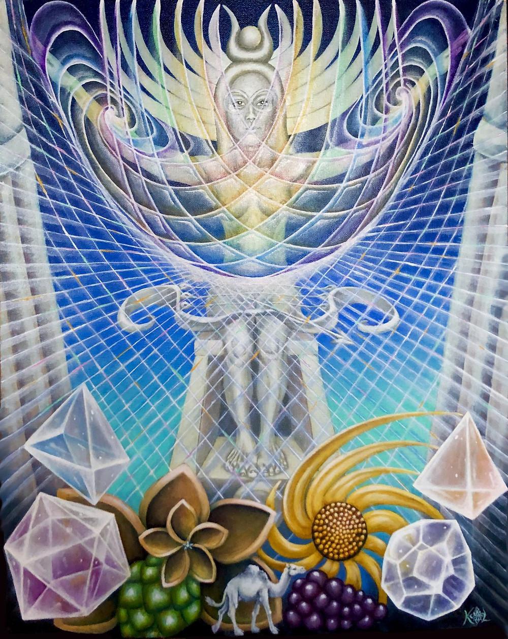 Thot Deck High Priestess