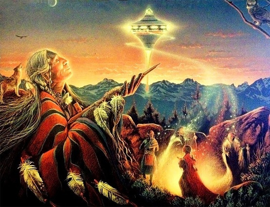 Earth Shaman : Artist Unknown