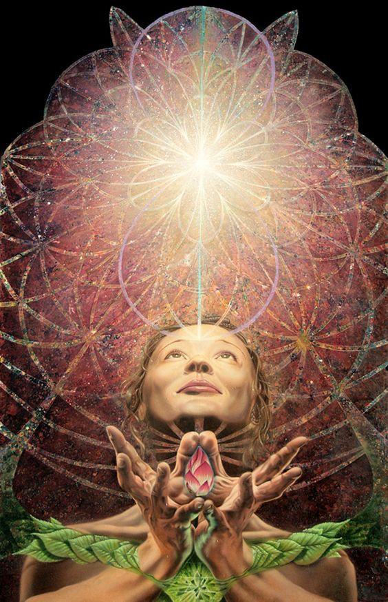 Artist Unknown : Mudra Hands of Creation