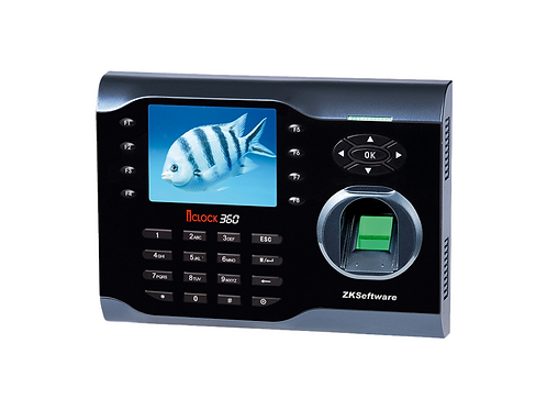 Biométrico ZK iClock 360