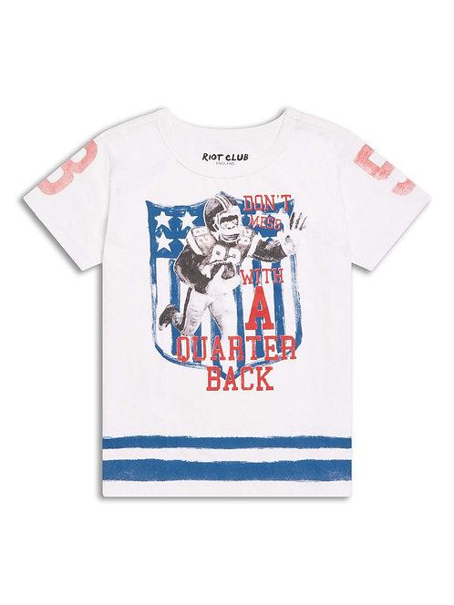 Boys quarter back t-shirt