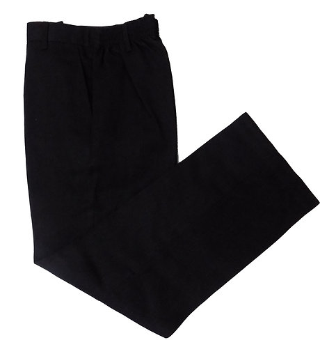 Boys 2 Pack Charcoal School Trousers Slim Waist