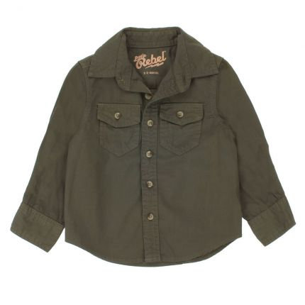 Khaki Baby Boy Shirt