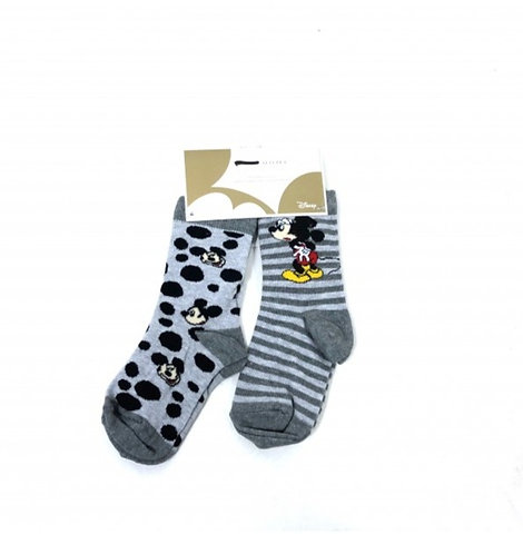 Disney Mickey Mouse Boys 2 Pack of Socks