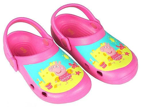Peppa Pig Pink Slip On Clogs Sandals
