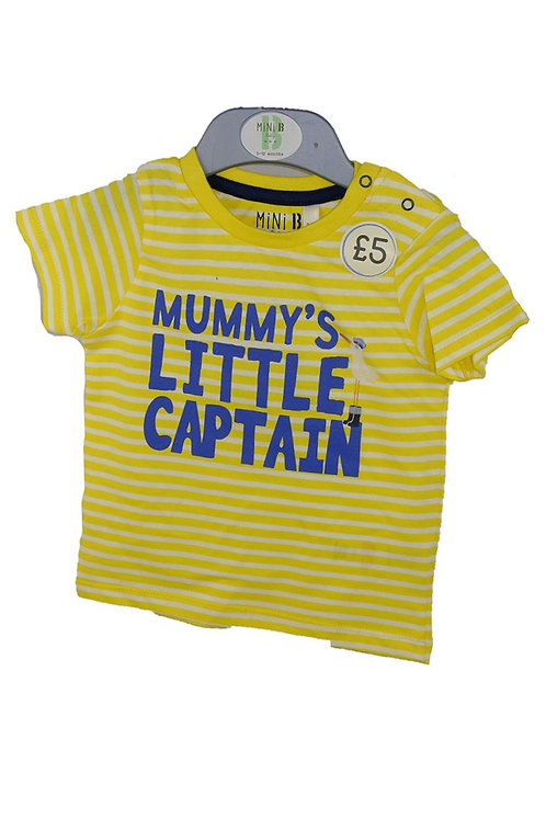 Mini B Little Captin T-Shirt
