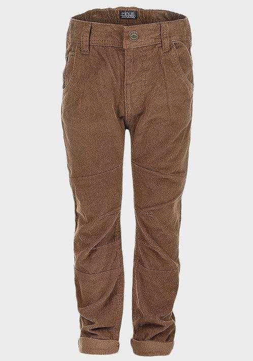Minoti Boys Corduroy Trousers Tan