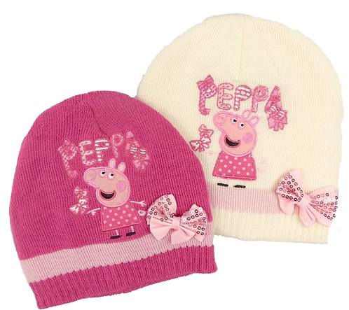 Official Peppa Pig Winter Beanie Knitted Hat