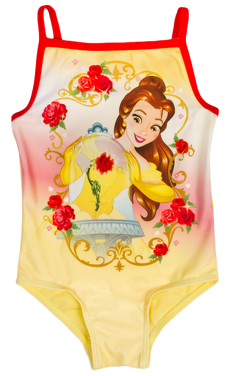 Official Disney Princess Belle Swimming Costume