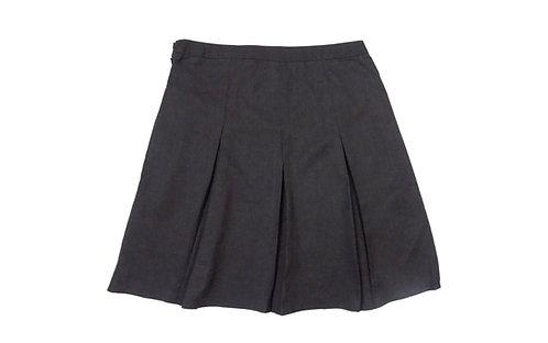 Grey Pleated school skirt