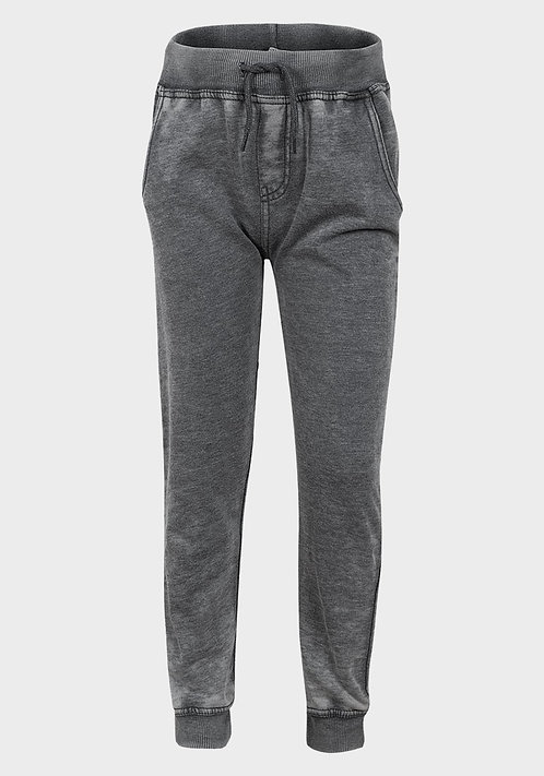 Minoti Boys Stone Wash Grey Jogger Pants