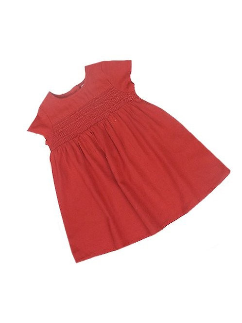 Red Smock Dress *Nxt