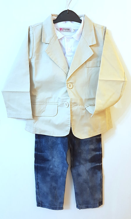 Boys 3 piece Jacket set