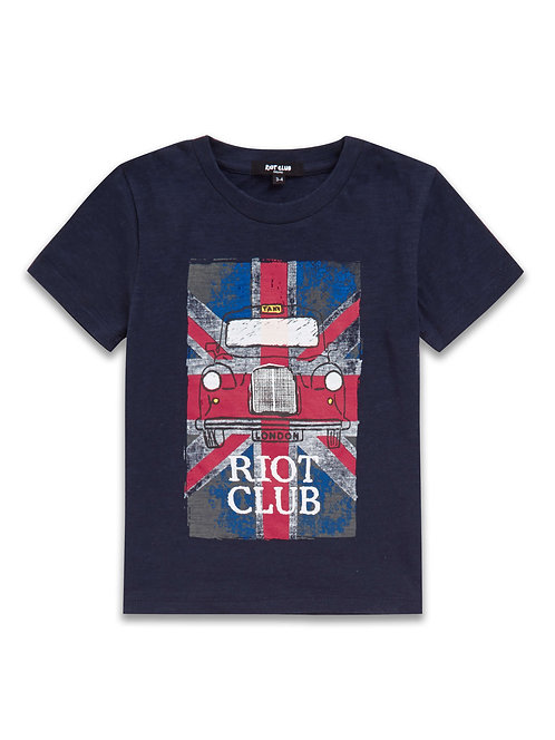 Boys union Jack Taxi T-Shirt