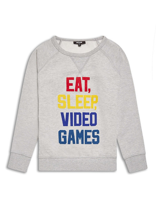 Boys Eat Sleep sweatshirt