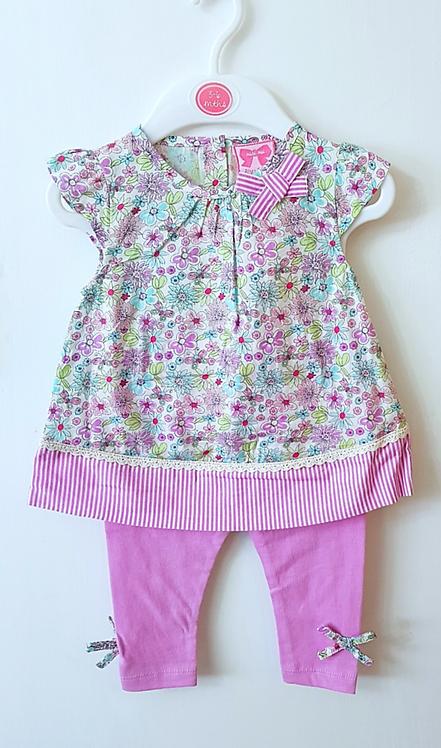 Baby Girls Mini Moi Floral Dress Set