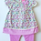 Thumbnail: Baby Girls Mini Moi Floral Dress Set
