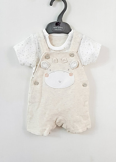 Little World Dungaree Set *Mcare
