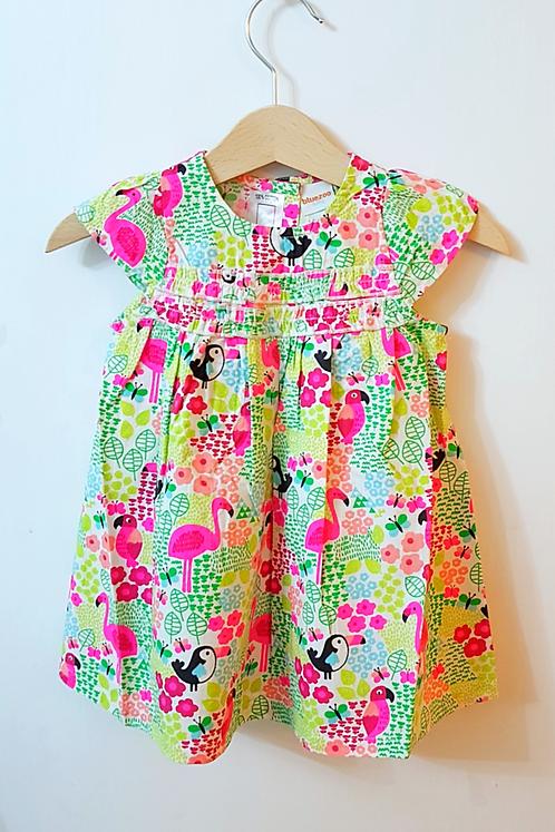 Girls Summer Paradise Bird Dress *bluezoo