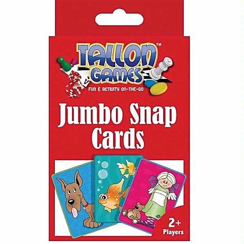 Jumbo snap cards