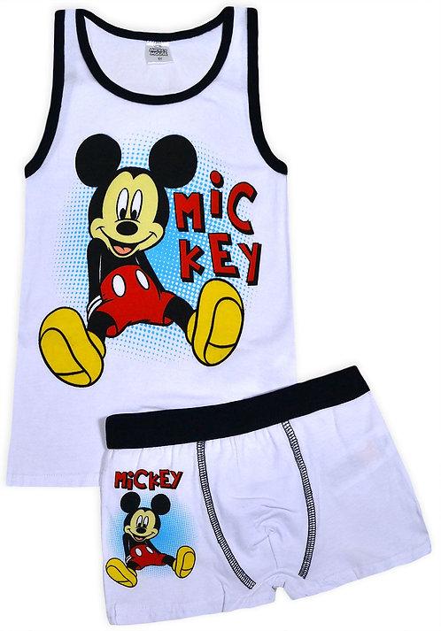 Disney Mickey Mouse Underwear Set White