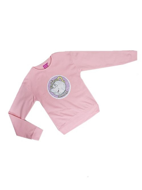 Chip & Mrs Potts Magical Sequin Sweat shirt