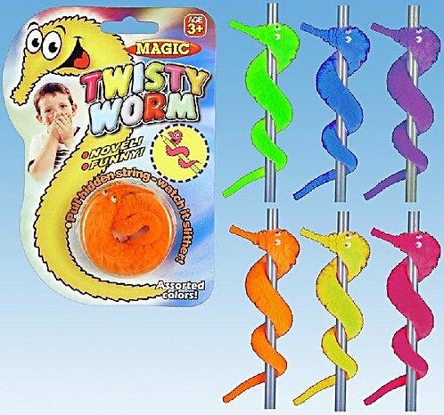 Magic twisty worm