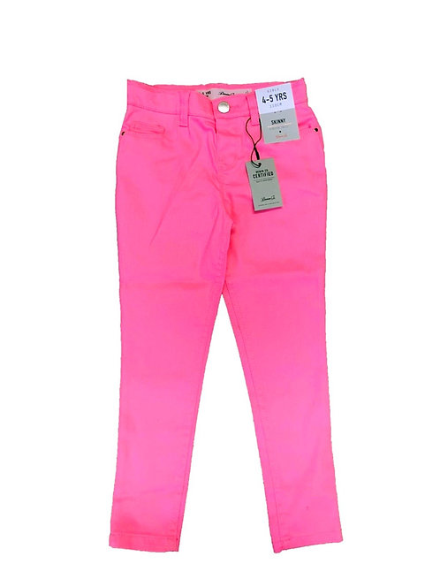 Girls High waisted Pink Skinny Jeans