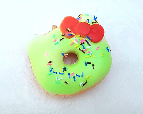 Kitty Doughnut Scented Squishy