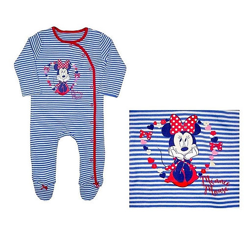 MINNIE MOUSE Babygrow Sleepsuit